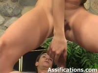 Поклонница анального секс